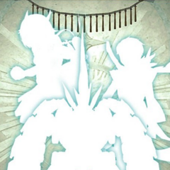 A silhouette of Poppibuster first seen in an in-game promotional image