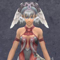 Melia in Casual Satin Armor