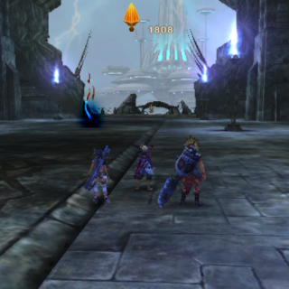 The entrance to the Central Hall at midgame