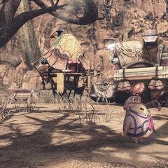 Dorian Caravan in Oblivia