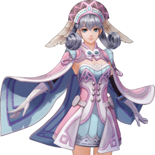 Official art of Melia in <i>Definitive Edition</i>