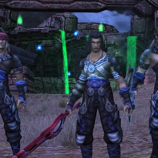Dickson, Dunban et Mumkhar pendant la Bataille de la Vallée de l'Épée