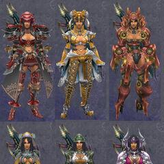 Compilation des armures de Sharla