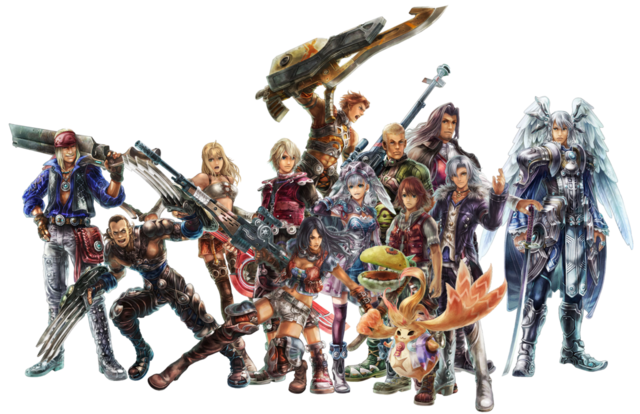 Personnages de Xenoblade Chronicles