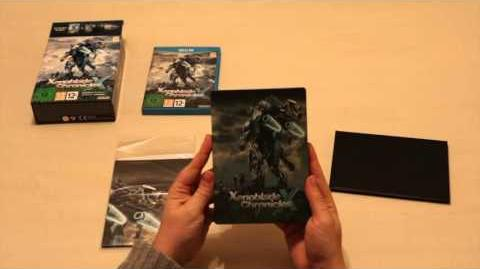 Unboxing Xenoblade Chronicles X Wii U Edition limitée.