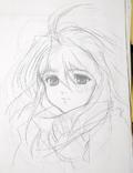 Emeralda rough sketch