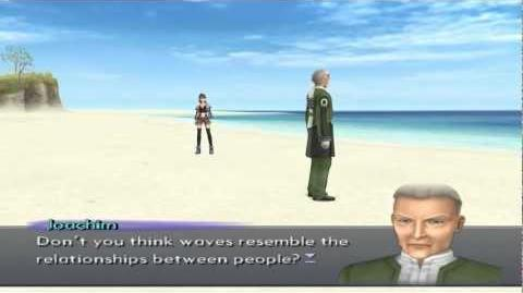 Xenosaga III HD Cutscene 154 - Joachim Stands on the Shore - ENGLISH - REGULAR MODE