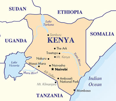 Kenya Xenosaga Wiki FANDOM Powered By Wikia - Kenya map
