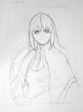Sophia's portrait concept art