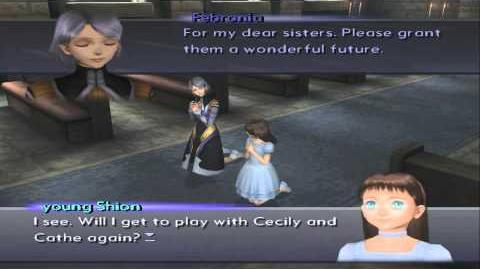 Xenosaga III HD Cutscene 143 - Young Shion's Prayer (Old Church) - ENGLISH - REGULAR MODE