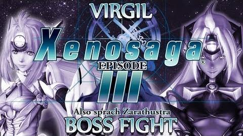 Ⓦ Xenosaga Episode 3 Walkthrough - Virgil (Blue Testament) Boss Fight
