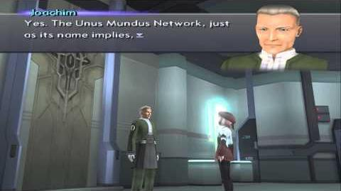 Xenosaga III HD Cutscene 161 - Joachim and MOMO (Labyrinthos) - ENGLISH - REGULAR MODE