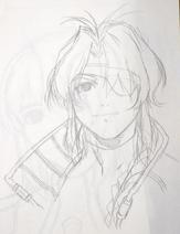 Bart portrait sketch