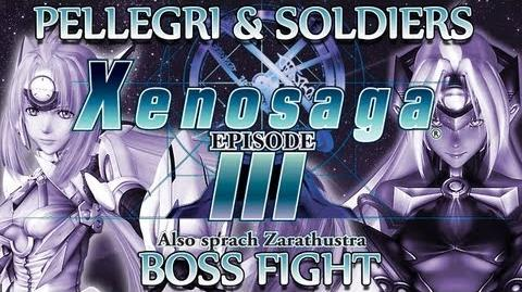 Ⓦ Xenosaga Episode 3 Walkthrough - Pellegri and Pellegri Soldiers Boss Fight