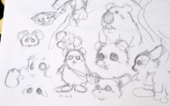 Chu-Chu early concept art