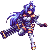 Kos-Mos (BlazBlue Cross Tag Battle Character Select Artwork)