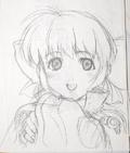Margie portrait sketch