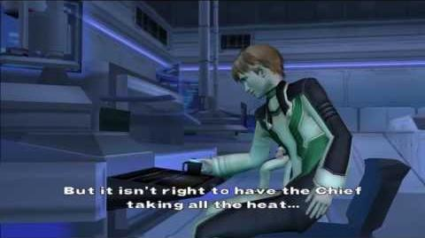 Xenosaga Episode I HD Cutscene 022 - Night Shift - ENGLISH