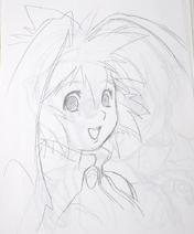 Seraphita portrait sketch