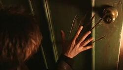 Mulder Main lacération porte Peur Bleue