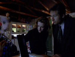 Scully Mulder Boutique de souvenirs Les Dents du Lac