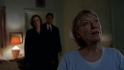 Scully Mulder Cassandra Spender Hôpital Patient X 1re partie
