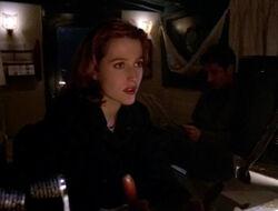 Scully Mulder Bateau Les Dents du Lac