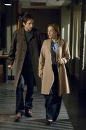 Mulder Scully Couloir Je veux y croire