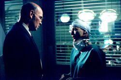 Walter Skinner Dana Scully Autopsie