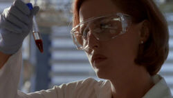 Scully test sanguin Le Complot