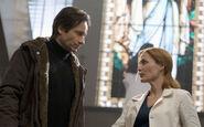 Mulder Scully Hôpital Je veux y croire