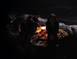 Mulder Scully Naufrage Les Dents du Lac