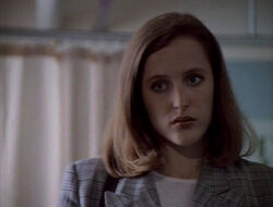 Dana Scully Nous ne sommes pas seuls
