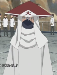 Retiring as Lord 6th Hokage