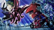 5Dx153 Yusei faces Red Nova Dragon