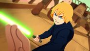 Luke vs. Jabba - Sail Barge Escape Star Wars Galaxy of Adventures 057