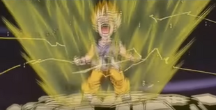 Super Saiyan 2 with Tail