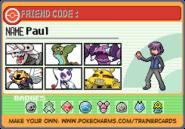 Paul vs. Ash Sinnoh League Team