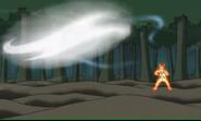 Wind style rasen shuriken