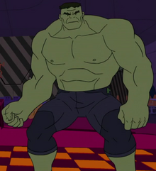Bruce Banner (Earth-TRN633) from Marvel's Spider-Man (animated series) Season 1 11 001
