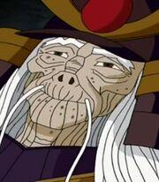 Old man samurai