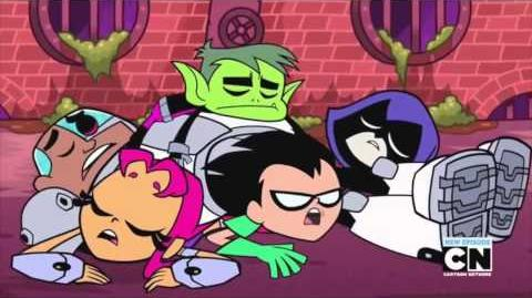 Teen Titans vs TMNT