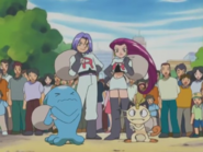 Jessie, James, Meowth and Wobbuffet (AG068)