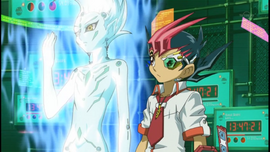 Yuma and Astral during Ukyo's Duel