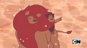 640px-Steven's Lion - Steven and Lion