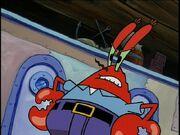 Mr. Krabs Facing Plankton