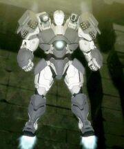 James Rhodes (Earth-904913) as War Machine