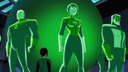 Justice League vs the Fatal Five 2043