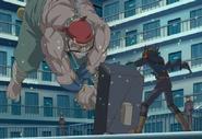 Armstrong ataca a Yusei directamente