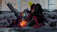 Justice League vs the Fatal Five 1534